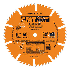 CMT 215.050.10 Industrial Combination Blade, 10-Inch