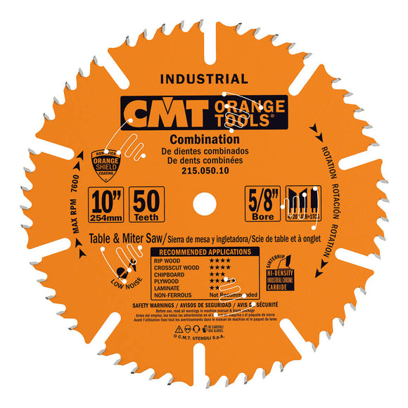 CMT 215.060.12 Industrial Combination Saw Blade, 12-Inch