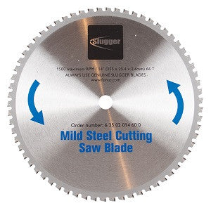 "14"" Slugger by FEIN Metal Saw Blades- 66T Mild Steel"