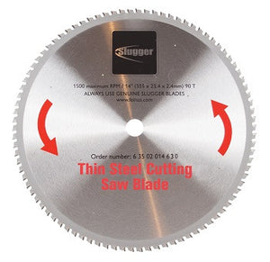 "14"" Slugger by FEIN Metal Saw Blades- 90T Thin Steel"