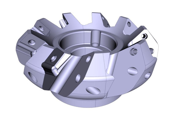 PREMIUM milling head with 9 inserts