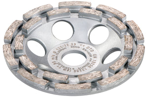 "Metabo 5"" Double Row Diamond Cup Wheel for RSEV 19-125 RT"