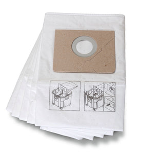 Fleece filter bags 35L for 9 20 28 Turbo II - 5-PACK