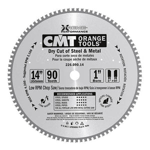 CMT 226.036.06 Industrial Dry Cut Steel Saw Blade, 6-1/2-Inch