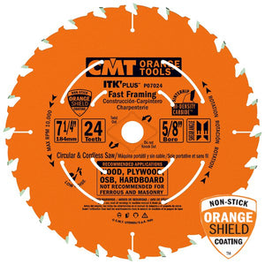 CMT P06018 ITK PLUS Saw Blade for Fast Framing, 6-1/2