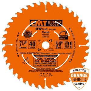 CMT P08040 ITK Plus Finish Saw Blade, 8-8-1/4
