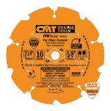 CMT P07010 ITK Plus Saw Blade for Fiber Cement, 7-1/4