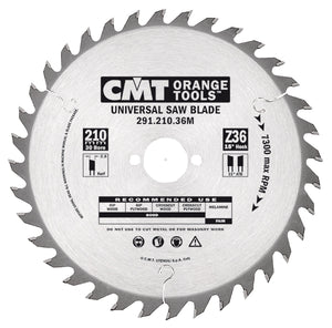 CMT 291.160.24H General Purpose Saw Blade, 160mm ATB