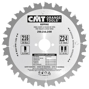 CMT 290.210.24M Ripping Saw Blade for Festool machines, 8-1/4-Inch  ATB