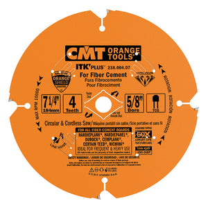 Contractor ITK-PLUS Diamond Blades for Fiber Cement Products 210mm