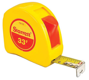 "Starrett Measuring Tape 1""x33"