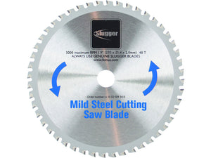 "9"" Mild Steel Cold Cut Saw Blade"