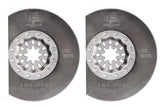Segment HSS Long-Life Saw Blade 85mm Starlock mount 2 pack
