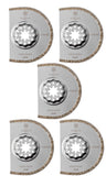 Starlock Diamond Segment Saw Blade 75mm x 2.2 thick 5 pack