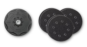 Sanding Disc Set Dia. 4½ in. (115mm) Starlock Plus mount