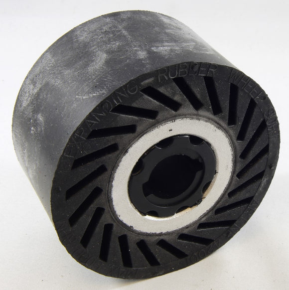 EXPANDING RUBBER WHEELS