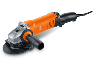 "FEIN 5"" Angle Grinder Ergo Grip No Lock- 1500 WATT with POWERTRONICS WSG17-125PRT"