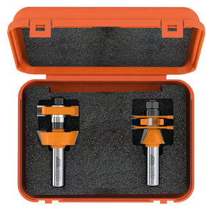 ADJUSTABLE SHAKER ROUTER BIT SET