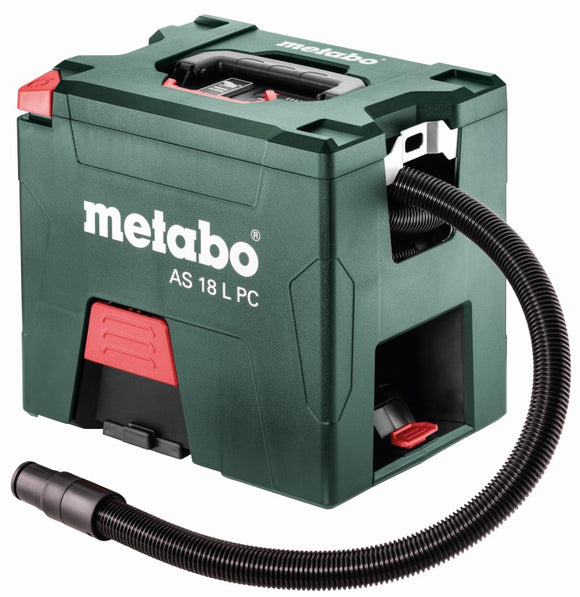 18V HEPA Vacuum - Metabo AS 18 PC HEPA