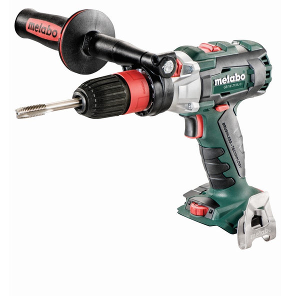 Metabo 18V Tapping Tool & Drill/ Driver Cordless Tapper w/ 2 chucks bare - GB 18 LTX BL Q I