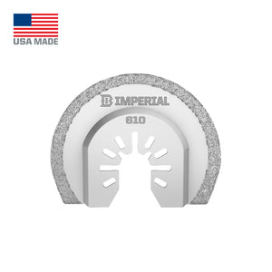 "Imperial ONE FIT 2-1/2"" Segmented Carbide Grit Blade IBOA610-1"