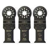 "Imperial STARLOCK 1-1/5"" Precise Thin Metal Blade IBSL310-3 3 Pack"