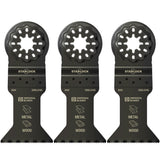 "Imperial STARLOCK 1-3/4"" Metal/Wood Blade IBSL340-3 3 Pack"