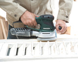 "Metabo 6"" Variable Speed Dual Random Orbit Disc Sander- SXE 450 TurboTec"