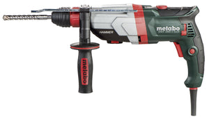 "Metabo 1-1/8"" SDS-Plus Universal Hammer - 0-900/0-2,100 RPM - 9.6 AMP, SDS-Plus chuck & 3-Jaw chuck- UHEV 2860-2 Quick"