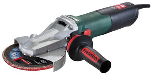 "Metabo 6"" Flat Head Grinder - 13.5 AMP w/Lock-on - WEF 15-150 Quick"