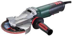 "Metabo 6"" Flat Head Grinder - 13.5 AMP w/Non-Lock Paddle - WEPF 15-150 Quick"
