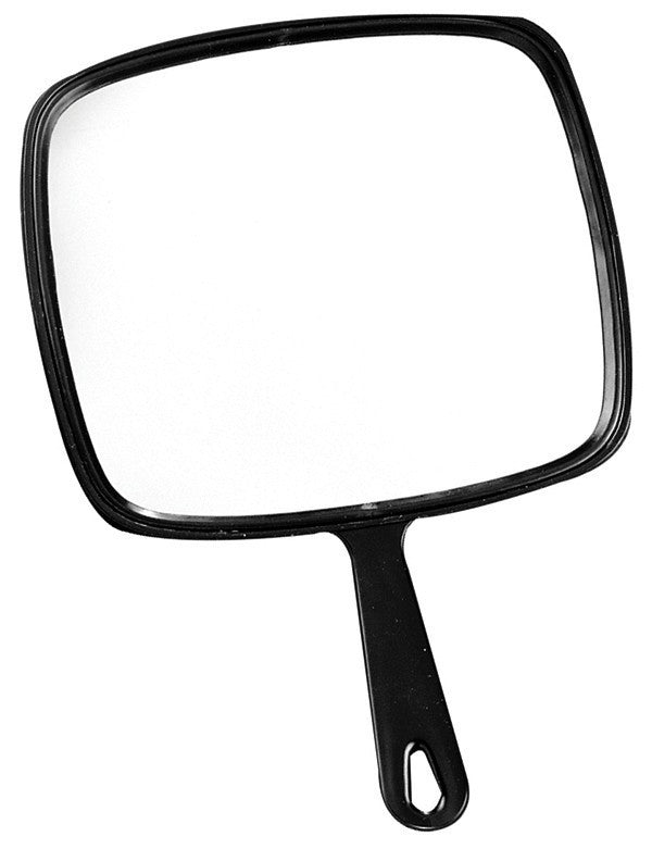 Large Square Hand Mirror BES0336BKUCC | Absolute Beauty Source