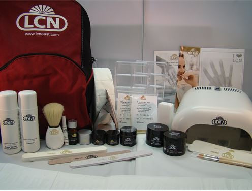 LCN Professional Artificial Nail Kit | Absolute Beauty Source