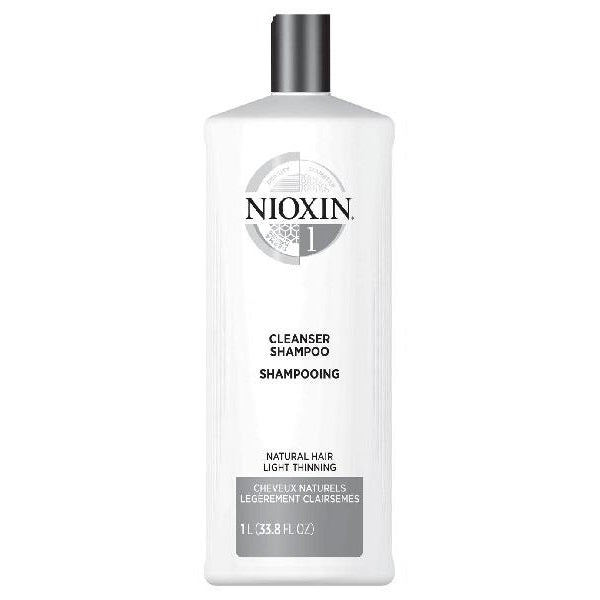 Nioxin System 1 - Cleanser Shampoo Litre