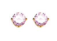 Inverness 30C - 5mm CZ Earrings Pink Ice | Absolute Beauty Source
