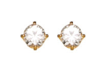 Inverness 33C - 5mm CZ Earring | Absolute Beauty Source