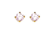 Inverness 39C - 3mm CZ Earrings Pink Ice | Absolute Beauty Source