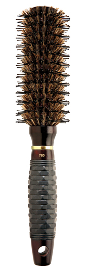 Dannyco Wood Brush with Angled Boar Bristles 780C | Absolute Beauty Source