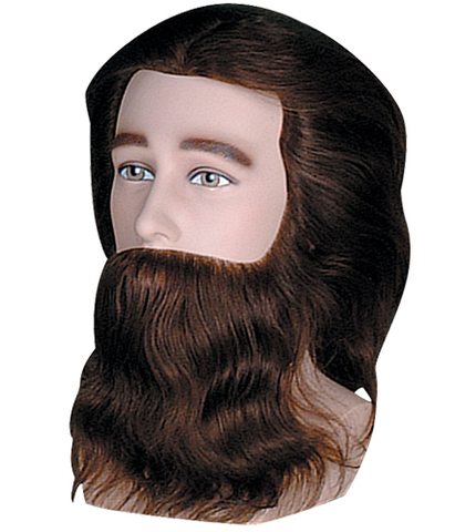 Dannyco Premium Bearded Male Competition Mannequin with Shoulders | Absolute Beauty Source