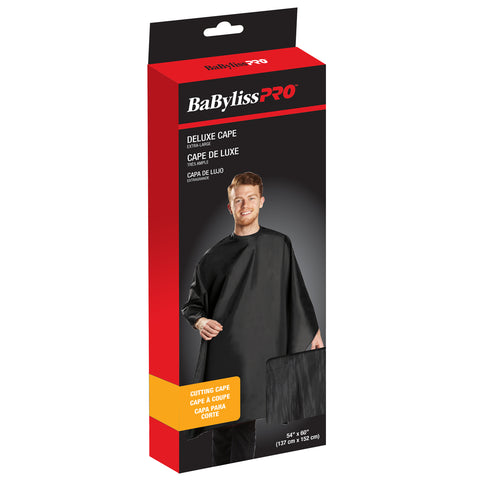 "BaByliss Pro Extra-Large Cutting Cape Black 52"" x 58"" BES360XLBKUCC 