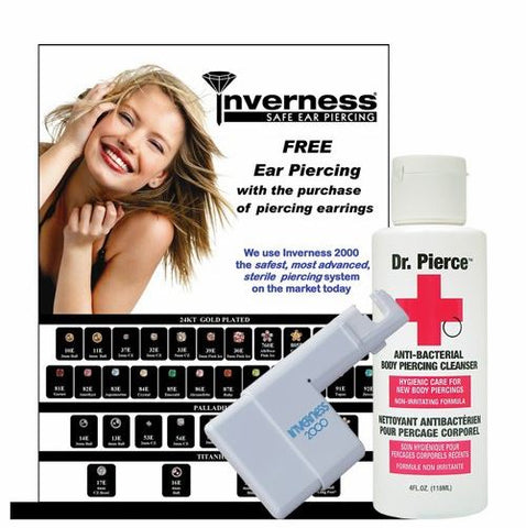 Inverness Ear Piercing Intro #1 - 12 Piece Intro Deal