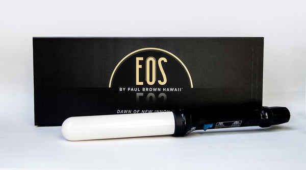 EOS by Paul Brown Hawaii Ceramic Curling Wand | Absolute Beauty Source