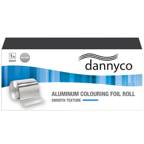 Dannyco Aluminum Colouring Foil Roll - Smooth Texture | Absolute Beauty Source