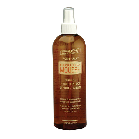 Fantasia Liquid Mousse - Spray on Firm Control Styling Lotion