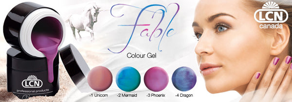 LCN Fable Colour Gel - UV Gel | Absolute Beauty Source