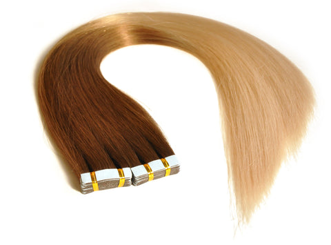 GBB Classic Human Hair Tape In Ombre Extensions 22"