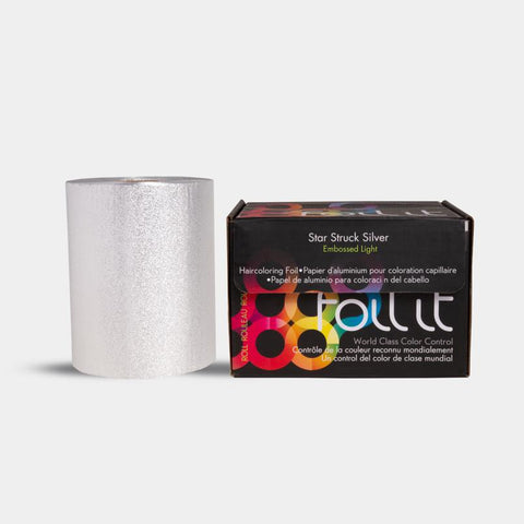 Foil It Star Struck Silver Roll - Light 360 ft. (Embossed)