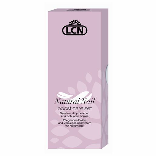LCN Natural Nail Boost Care Set | Absolute Beauty Source