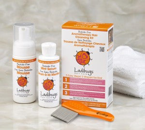 Ladibugs Deep Cleansing Kit (Lice Elimination) | Absolute Beauty Source