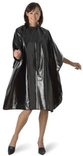 BaByliss Pro Extra-Large Metallic Black All-Purpose Cape BES53METBKUCC | Absolute Beauty Source